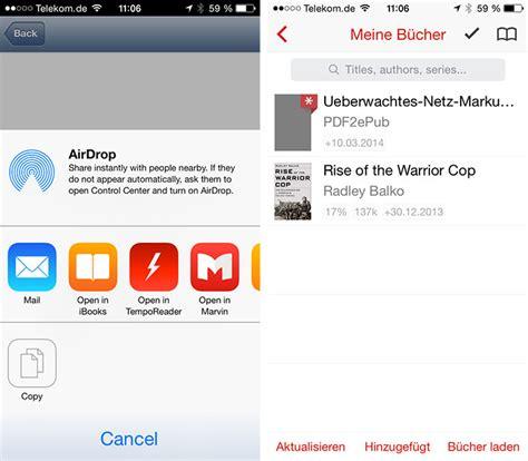 ebook format umwandeln pdf zu epub dateien pdf2epub konvertiert auf dem iphone