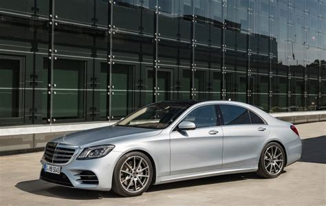 facelifted 2018 mercedes s class maybach and amg