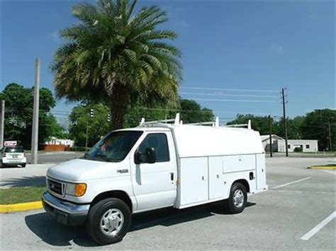 Used Plumbing Vans For Sale by Purchase Used Ford E350 Knapheide Kuv Plumbing
