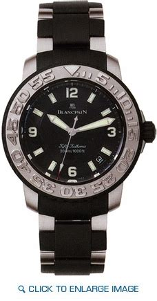 Restok Pins 2200 blancpain 50 fathoms date power reserve mens 2200 6530 66 authenticwatches since 1979