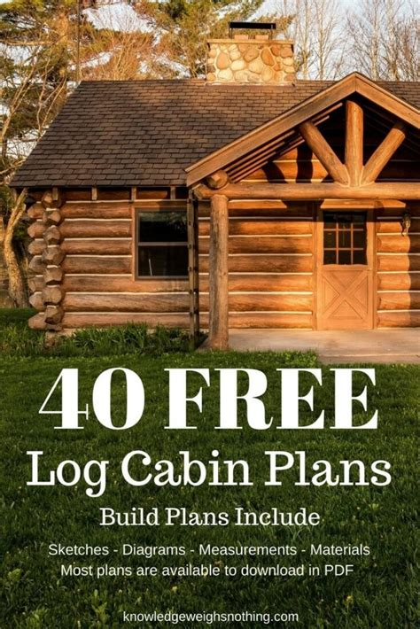small cabin plans free best of small log cabin plans free home plans design