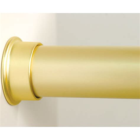 closet rod custom size closet rod brushed gold in closet rods and