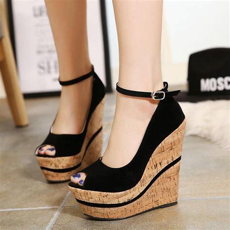 Trend Platform Shoes by High Heels 2016 New Fashion High Heels Pumps