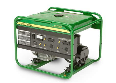 deere ac g7510h large frame generator agricultural