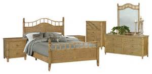 wicker bedroom furniture sets bali tropical 6 piece rattan and wicker bedroom furniture
