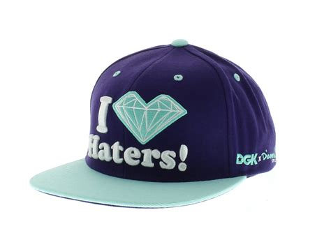 with snapbacks the hater snapback purple seaglass by dgk new