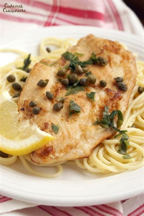 Lemon Chicken Piccata (and How To Butterfly Chicken Breast