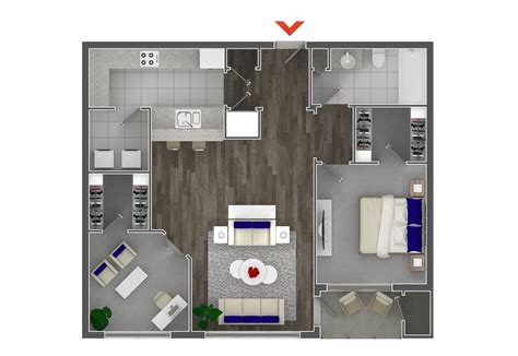 one bedroom apartment designs exle studio 1 2 bedroom apartments in atlanta highland walk