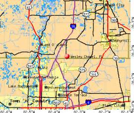 wesley chapel florida map wesley chapel fl
