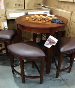 Costco Kitchen Furniture Costco Universal Furniture 5 Pc Counter Height Dining Set