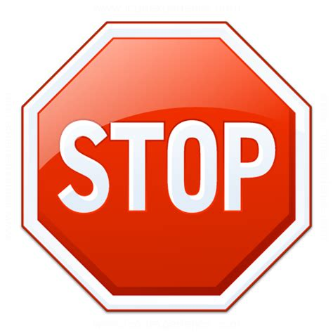 Stop X stop icon search engine at search