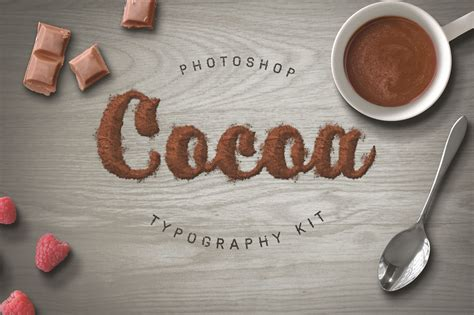 food typography tutorial photoshop food typography psd actions on behance