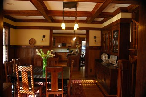 arts and crafts dining room arts crafts traditional dining room atlanta by