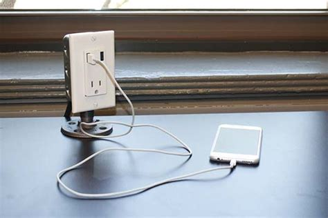 desk charger station bedside charging station the handmade industrial desk usb charging station gadgetsin