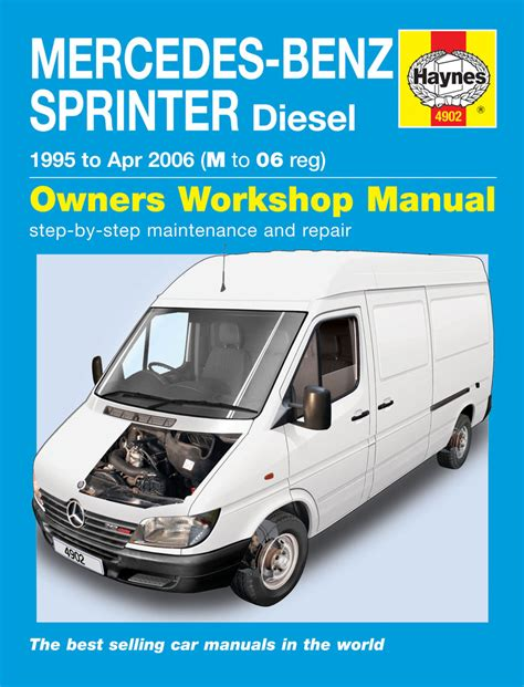free car manuals to download 2001 mercedes benz e class instrument cluster mercedes benz sprinter diesel 95 apr 06 haynes repair manual haynes publishing