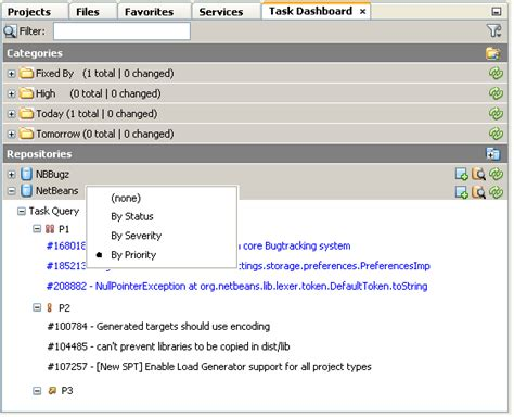 repository pattern group by taskdashboarddesignspec netbeans wiki