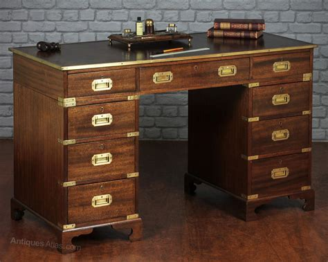 Antiques Atlas Caign Style Pedestal Desk Antique Desk Styles