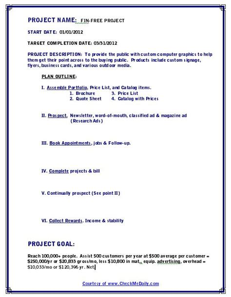 how to write a project plan template best photos of exle research project outline template