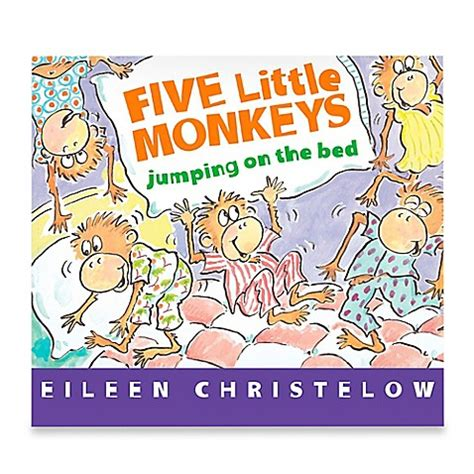 five little monkeys jumping on the bed book quot five little monkeys jumping on the bed quot board book by