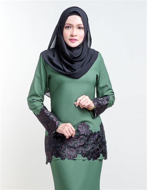 Baju Kurung Moden Pendek Terkini baju kurung moden green lovelysuri