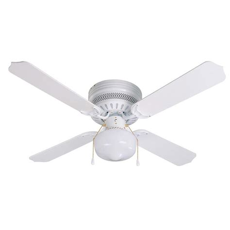 Ceiling Hugger Fans With Lights Lowes Shop Litex Celeste Hugger 42 In White Flush Mount Ceiling