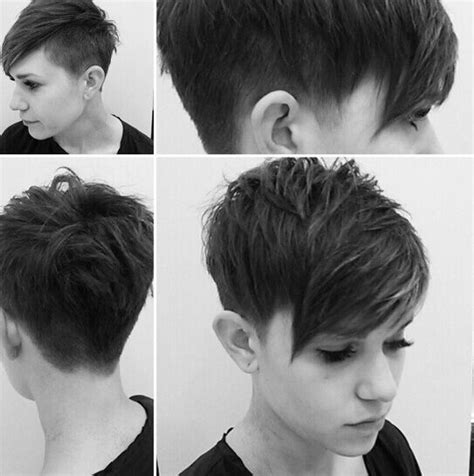 pictures of pixie haircuts back and fromt short pixie haircuts front and back view hair