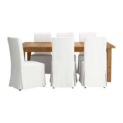 Ikea Conference Table And Chairs Storn 196 S Henriksdal Table And 6 Chairs Brown Black Blekinge White Dining Sets Ikea Dining