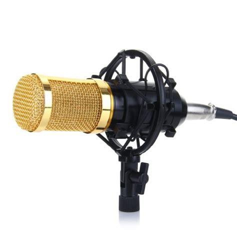Audio Condenser Microphone Studio Sound Shock Mount Bm 800 excelvan bm 800 condenser microphone cardioid pro audio studio vocal recording mic with shock