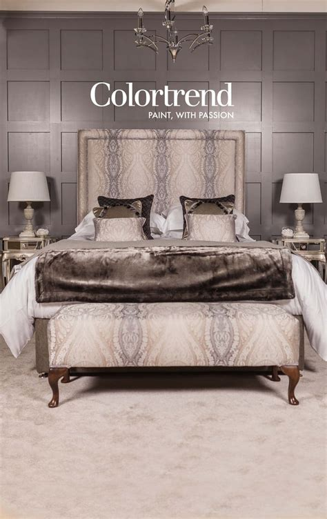 new headboard designs our 50 shades of grey bedroom is a hit at ideal home