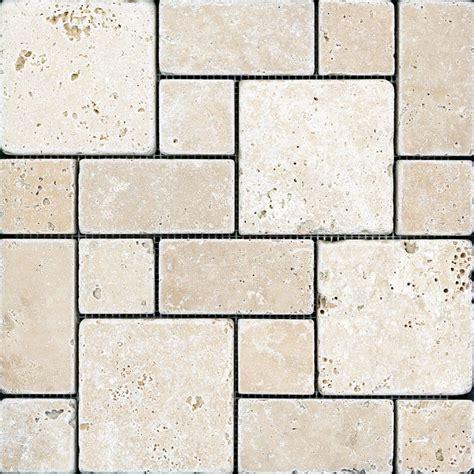 chiaro tile backsplash anatolia chiaro tuscan pattern tumbled mosaics the home