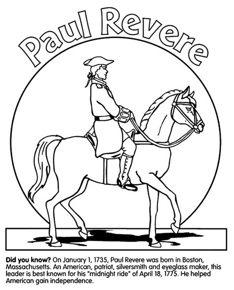 revolutionary war paul revere aussie pumpkin patch