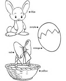 Easter Egg Coloring Pages  BlueBonkers Learn To Color sketch template