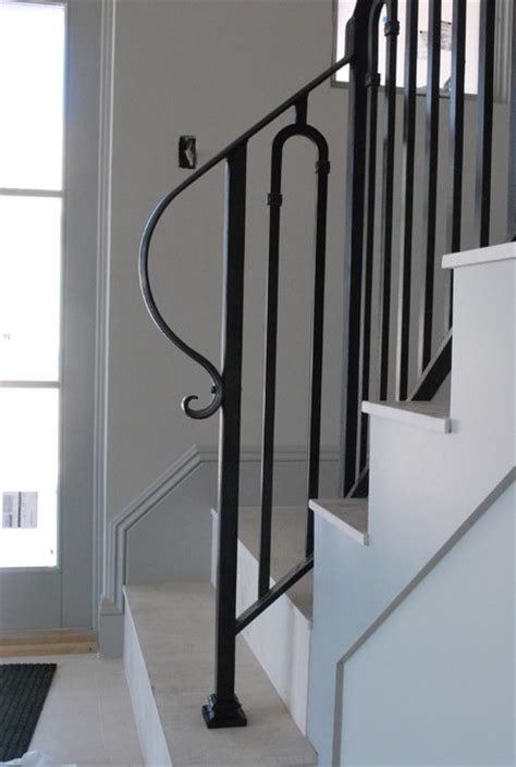 Contemporary Stair Railing Stair Railing Contemporary Staircase By