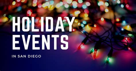 holiday events in san diego class realty group