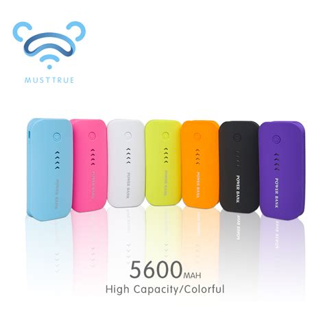 Power Bank Gmc 5600mah 2 18650 power bank 5600mah usb powerbank external battery portable charger bateria externa pack
