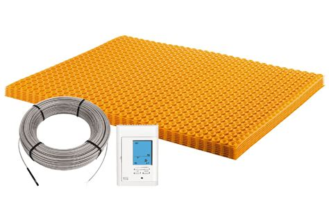 How Thick Is Ditra Mat by Schluter 174 Ditra Heat E Kit Floor Warming Schluter Ca