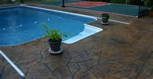 Patio Decking Tiles Concrete Toppings For Swimming Pool Deck Coatings Using