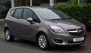 Meriva Opel Datei Opel Meriva 1 4 Style B Facelift Frontansicht