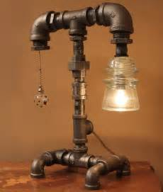 Home Design Lighting Desk Lamp by Diy How To Make Pipe Lamp Id Lights