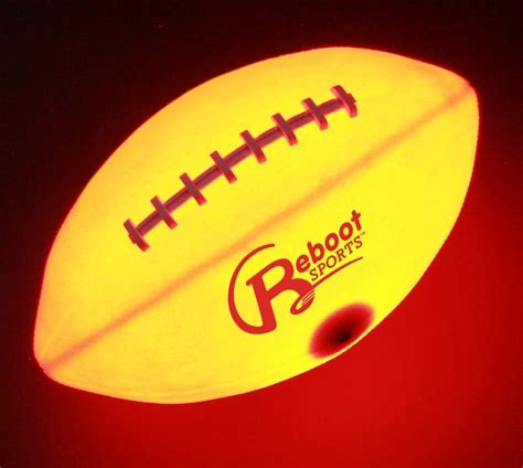 Light Up Football light up football light up footballs by reboot sports