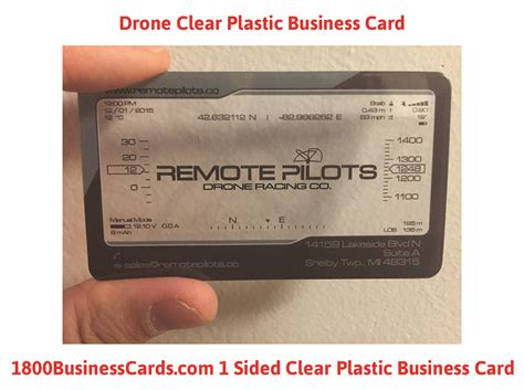 Drone Business Cards