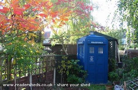 Tardis Shed Kit tardis sheds by the shedload boing boing