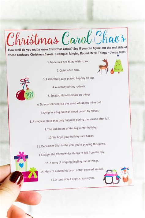 easy christmas games for adults 25 easy you to play this year