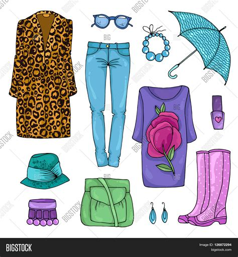 Step Weather A Day vector drawing set colorful image photo bigstock