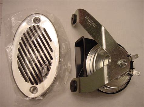 boat horn from sea ray boat horn flush mount stainless cover marine 12