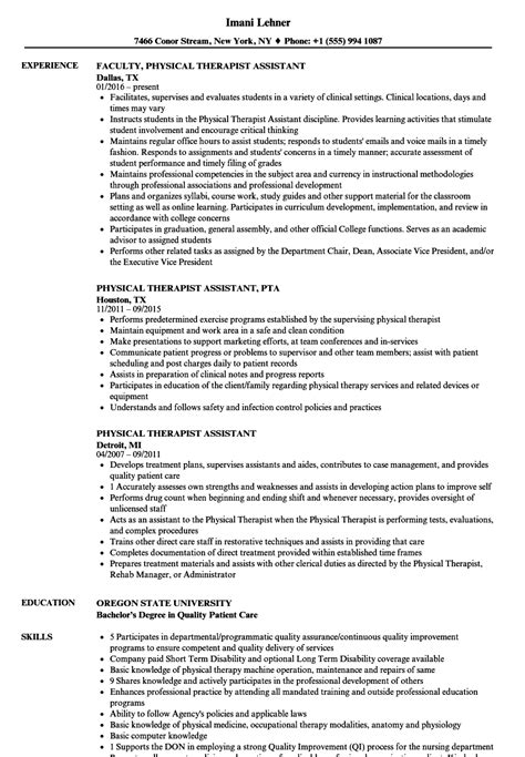 respiratory therapy cover letter and physical therapy resume format