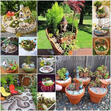 adorable miniature garden ideas
