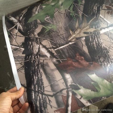 Best Seller Celana Camo Realtree new matte realtree camo vinyl wrap real tree leaf