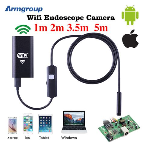 3m Wifi Endoscope Android 720p Iphone Borescope Waterproof popular iphone endoscope buy cheap iphone endoscope lots