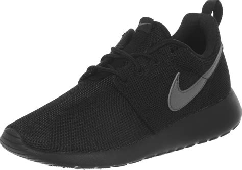 nike roshe one youth gs shoes black